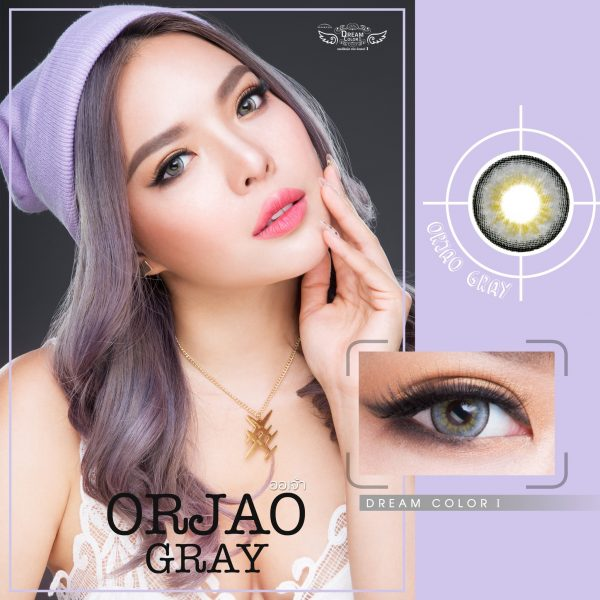 Softlens Dreamcolor ORJAO GRAY