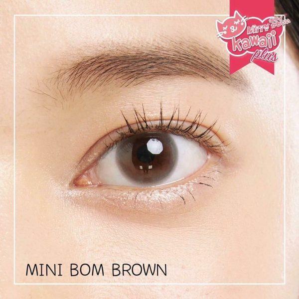 softlens mini bom brown natural