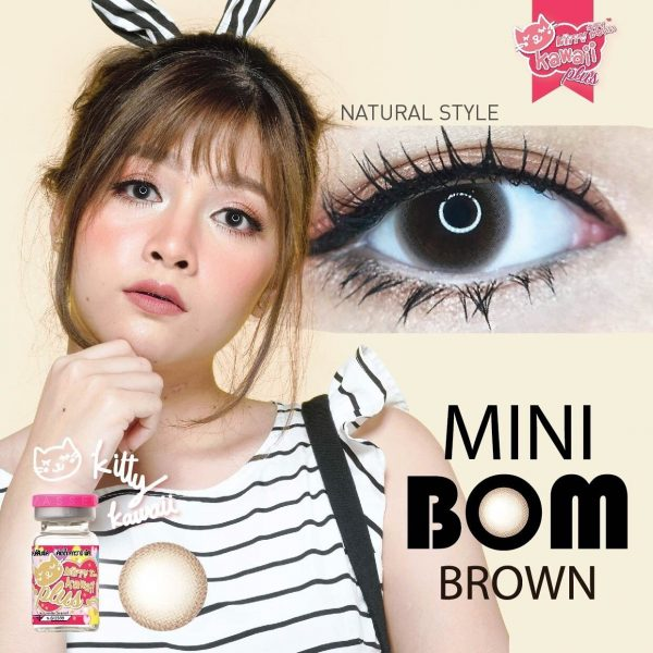 kittykawaii Mini Bom Brown
