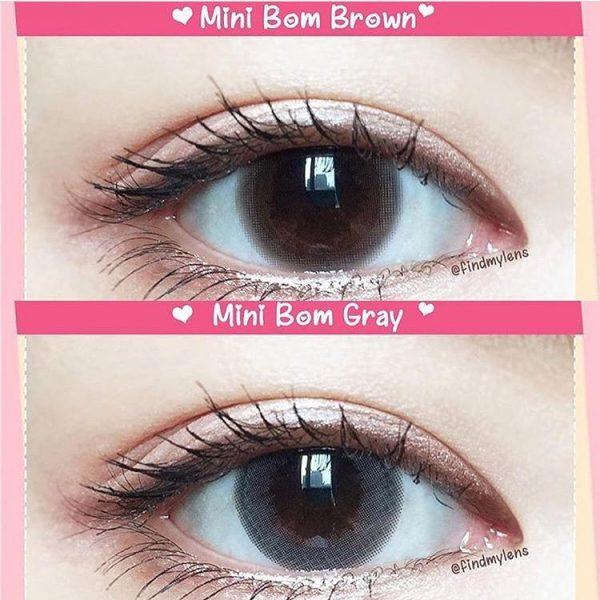 softlens mini bom brown & grey
