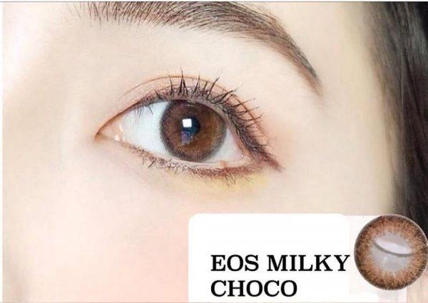softlens eos milky choco