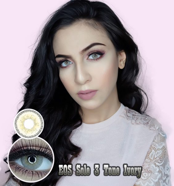 softlens eos sole 3T ivory