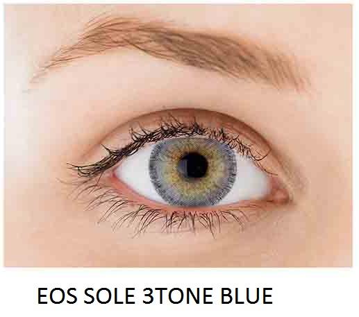 eos sole 3tone blue