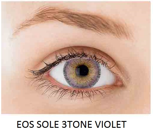 eos sole 3tone violet