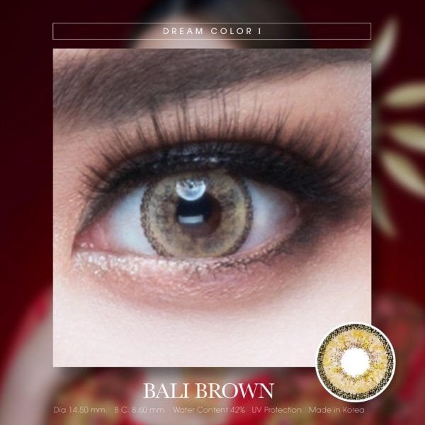 softlens dreamcolor bali brown