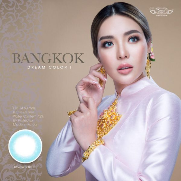 softlens dreamcolor bangkok blue 2
