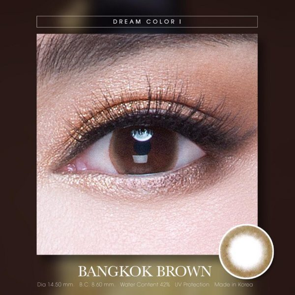 softlens dreamcolor bangkok brown