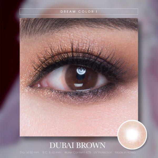 softlens dreamcolor dubai brown