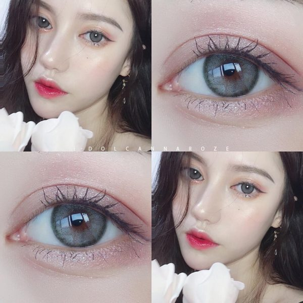 i-doll roze charcoal softlens