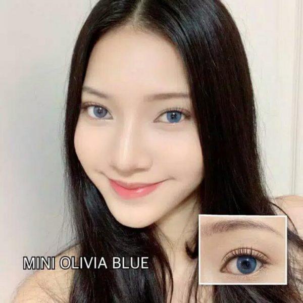 mini olivia blue