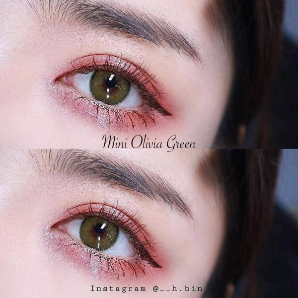 softlens mini olivia green