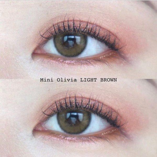 softlens mini olivia light brown