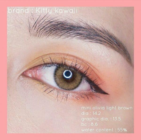 mini olivia light brown