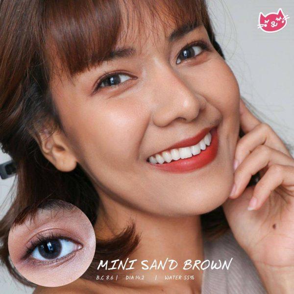 softlens mini sand brown
