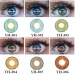 Softlens Geo Twilight Twins 14.2mm