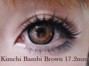 Softlens Kimchi Bambi 17.2mm
