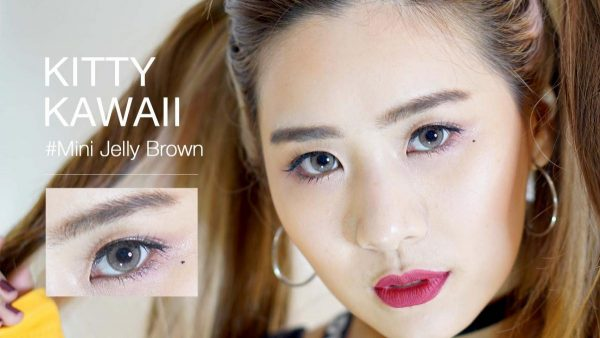 softlens mini jelly brown